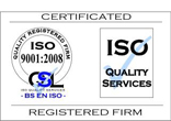 ISO 9001:2008 accreditation