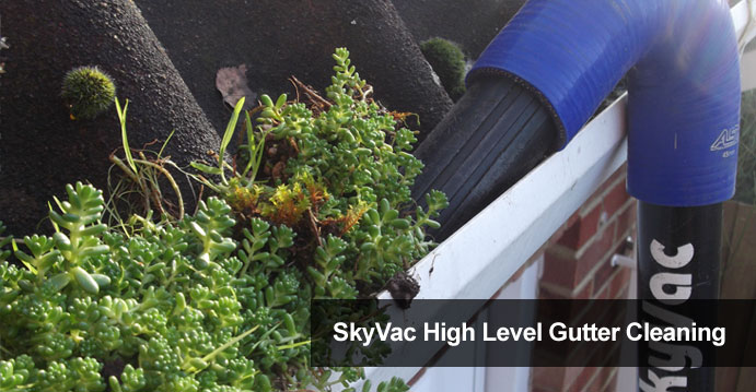 Skyvac High Level Gutter Cleaning